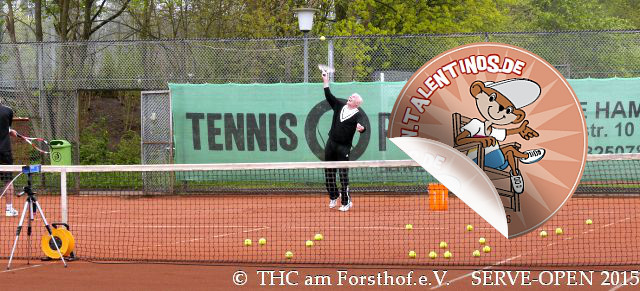 Tennis - Auschlagsfoto Nr. 5 - SERVE Open
