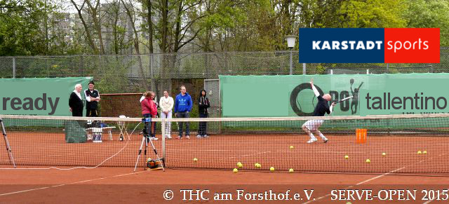 Tennis - Auschlagsfoto Nr. 6 - SERVE Open